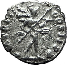 SEPTIMIUS SEVERUS 193AD Authentic Ancient Silver Roman Coin MARS WAR i60411