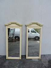 Pair of French Painted Wall Mirrors 6199