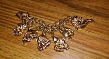 Disney Snow White Seven Dwarfs Bracelet, Vintage!  Nice!  Child's