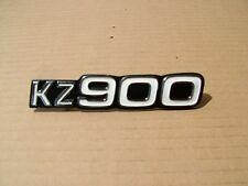 KAWASAKI KZ900 A4-'76,  SIDE COVER BADGE NEW REPRODUCTION