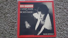 Den Harrow - Overpower/ Broken radio US REMIX 12'' Italo Disco Vinyl