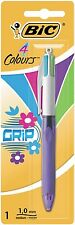 Bic 4 couleurs fashion grip stylo à bille-blister de 1