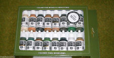 VALLEJO WWII ALLIED Model Colour 16 bottle set 70109