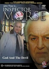 INSPECTOR MORSE - GOD AND THE DEVIL - NEW SEALED DVD - JOHN THAW - TWO EPISODES