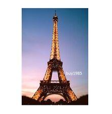 "Eiffel Tower in Paris  4"" x 6"" Photo  includes 5"" x 7"" Picture Mat"