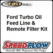 Ford Territory Turbo Oil Feed Line & Remote Filter Kit - SPEEDFLOW