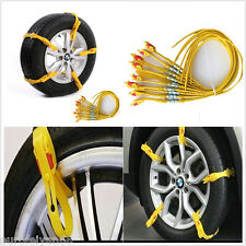 10in1 Car SUV Off-Road Ice Snowy Mud Ground Wheel Tyre Emergency Anti-skid Chain