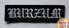 1BURZUM W PATCH,BUY3GET4,DARKTHRONE,BATHORY,EMPEROR,MAYHEM,1349,BLACK METAL,MGLA