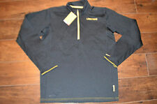 New Nike LIVESTRONG Grid Half-Zip Mens Long Sleeve Shirt Top 573983-010 l large