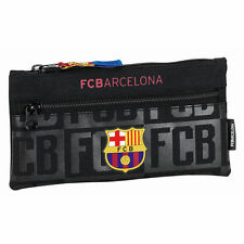 Barcelona Pencil Case Double Zip New Season Colour 100% Official FC Barcelona