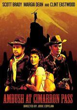 AMBUSH AT CIMARRON PASS (1958 Scott Brady) - DVD - Region 1