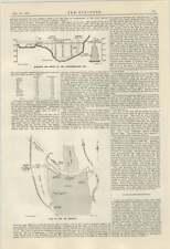 1924 Crocodile River Transvaal hartebeestpoort Diga descrizione 2 FIRE POMPA GALLEGGIANTE