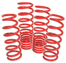 1995-1999 Mitsubishi Eclipse Eagle Talon Racing Lowering Spring Drop Set Red