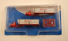 N Mini Metals Carnation Trucks & Trailers (Pkg. 2 ea) * Un used with package
