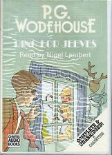 P G WODEHOUSE RING FOR JEEVES NIGEL LAMBERT AUDIO BOOK UNABRIDGED 6 CASSETTES