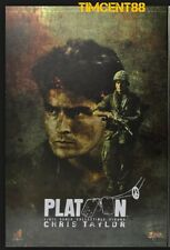 Ready! Hot Toys MMS 135 Platoon 1/6 Chris Taylor Charlie Sheen Figure