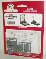 Wills SS91 - Lever/Ground Frames (Plastic Kit) - New. (00)