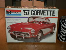 Chevrolet, 1957 CORVETTE, Plastic Model Car Kit, Scale: 1/24