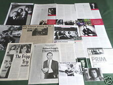 "KING CRIMSON - ROCK MUSIC- ""CLIPPINGS /CUTTINGS PACK"""