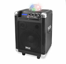 NEW Pyle PCMX280B Disco Jam 400 Watt Bluetooth 10'' Portable PA Speaker System