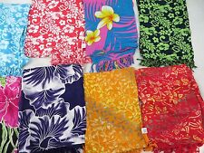 *US SELLER*Lot of 5 hibiscus flower sarong swimsuit coverups pareo Hawaii Aloha