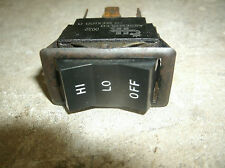 01  POLARIS EDGE XCF 440 ENGINE  SWITCH