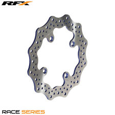 RFX RACE REAR BRAKE DISC BLACK FOR YAMAHA YZ80 YZ85 1993 - 2016 Models