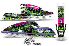 AMR Racing Jet Ski Graphics Wrap Kawasaki SX 750 Decal Kit 1992-1998 FRENZY GRN