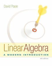 ACCESS CODE ONLY ---- Linear Algebra: A Modern Introduction, 4E by Poole