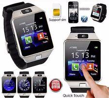 SeaKing-Alpha® DZ09 SmartWatch Armband Uhr für Android + IOS- Silver Bluetooth