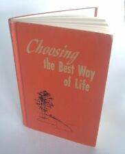 VTG Choosing the Best Way of Life Watch Tower Bible 1979 Religion & Spirituality
