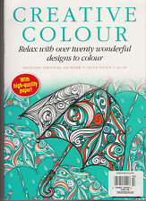 CREATIVE COLOUR MAGAZINE #7, RELAX WITH OVER TWENTY WONDERFUL DESIGN TO COLOUR.