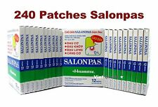 20X12 packs (w. carton) Salonpas Patches Pflasters Pain Relief Arthritis Back