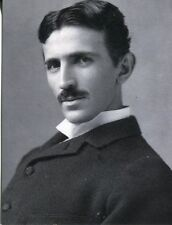 POST CARD OF A PORTRAIT OF THE GREAT SERBIAN INVENTOR TESLA