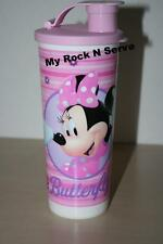TUPPERWARE Disney Mini Mouse Tumbler w/ Flip top seal 16oz New