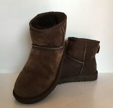 UGG Australia Boots Classic Mini Size 5 Woman - Color Brown Sheep Skin