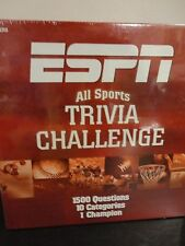 ESPN ALL SPORTS TRIVIA CHALLENGE GAME 1500 QUESTION NEW SEALED