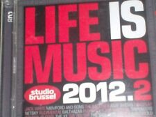 LIFE IS MUSIC 2012.2  - STUDIO BRUSSEL (2 CD) Mumford & Sons, Gotye, Netsky...