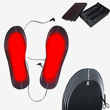 Battery Powered Electric Heated Heating Insoles Shoes Boots Size 38-46