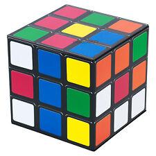 Vintage Rubik's Cube Metal Lata de almacenamiento Novedad Escritorio De Oficina Hogar Decoración Caja