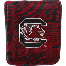 South Carolina Gamecocks Super Soft Raschel Throw Blanket, 50 x 60 inch