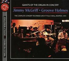 With Groove Holmes In Concert - Jimmy Mcgriff (2006, CD NIEUW)