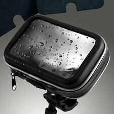 "Waterproof Motorcycle Bike Handlebar Mount GPS Case For 5"" Magellan TomTom GPS"