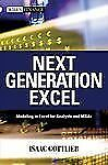 Wiley Finance Ser.: Next Generation Excel : Modeling in Excel for Analysts...