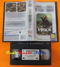 film VHS MISSION Robert DeNiro Jeremy Irons GLI SCUDI 1986  (F17 * ) no dvd
