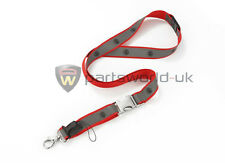 Alfa Romeo Reflective Lanyard / Neck Strap Badge Holder 5916448 New & Genuine