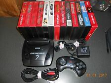 Sega Genesis 3 System with 13 game bundle - Most complete in box