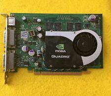 NVIDIA QUADRO FX370 256MB PCI-E DUAL DVI VIDEO CARD VCQFX370-PCIE NVA-P588-000