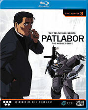 Patlabor, The Mobile Police: TV Collection 3 [Blu-ray], New Disc, ,