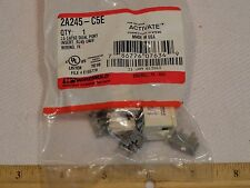 WIREMOLD 2A245-C5E 2A Dual Port Cat 5e RJ45 Universal T56A/B Insert Jack IVORY